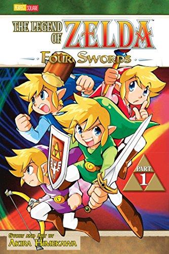 9781421523323: LEGEND OF ZELDA GN VOL 06 (OF 10) (CURR PTG) (C: 1-0-0): Four Swords - Part 1 (The Legend of Zelda)