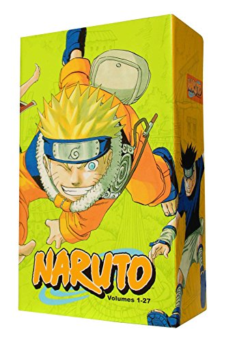 Naruto Box Set 1: Volumes 1-27 with