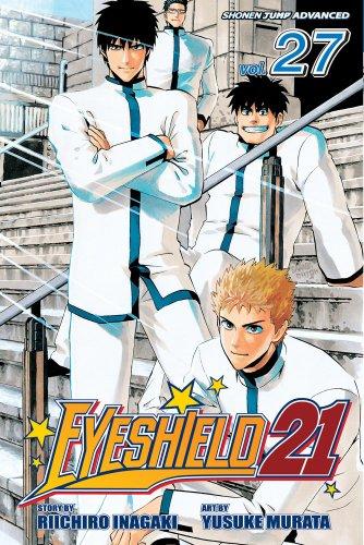 Eyeshield 21, Volume 27: Seijuro Shin vs. Sena Kobayakawa: Inagaki, Riichiro