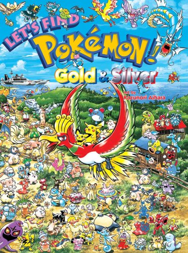 9781421526980: LETS FIND POKEMON GOLD & SILVER