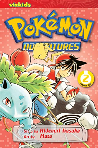 Pokemon Adventures 9781421530550 Adventures inspired by the best-selling Pokémon video games! All your favorite Pokémon game characters jump out of the screen into the p