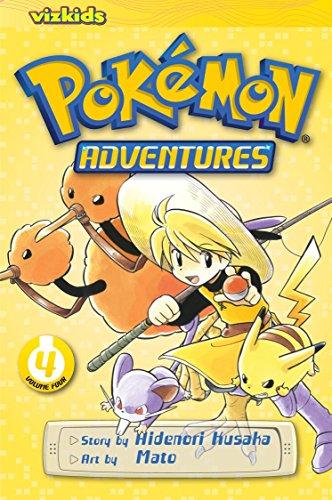 Pok?mon Adventures, Vol. 4 (2nd Edition): Hidenori Kusaka; Illustrator-Mato