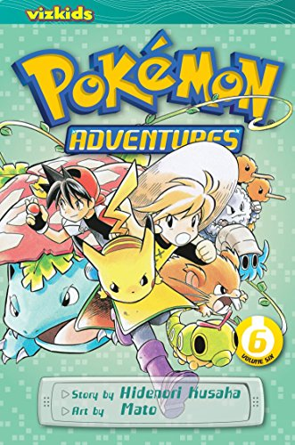 9781421530598: POKEMON ADVENTURES GN VOL 06 RED BLUE