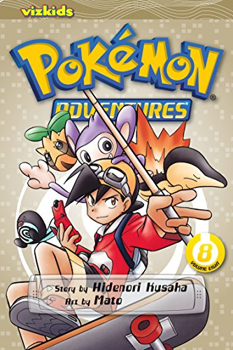Pokémon Adventures, Vol. 8: Hidenori Kusaka; Mato