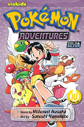 Pokemon Adventures 9781421530635 Adventures inspired by the best-selling Pokémon video games! All your favorite Pokémon game characters jump out of the screen into the pages of this action-packed manga! In order to assist Professor Oak's research, a young Trainer, Crystal, hits the streets of Cherrygrove City with a new Pokédex in hand! Her goal is to catch all kinds of Pokémon! And what will happen when the Legendary Pokémon Suicune has awakened?