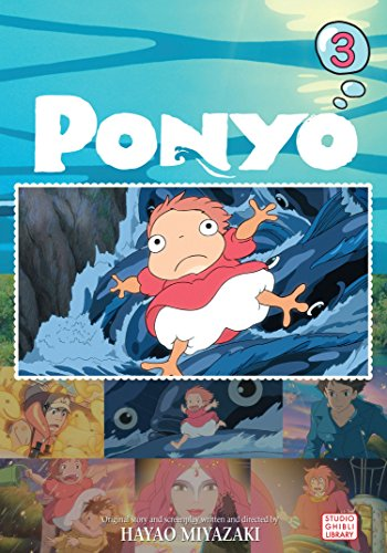 9781421530796: PONYO FILM COMIC GN VOL 03 (PONYO ON THE CLIFF)