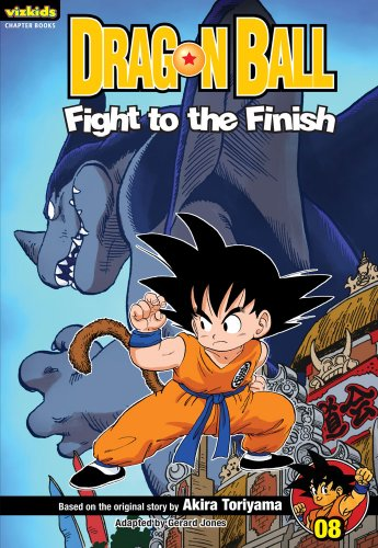 9781421531243: Dragon Ball: Chapter Book, Vol. 8: Fight to the Finish! (8)