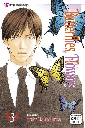 9781421532059: Butterflies, Flowers, Vol. 3