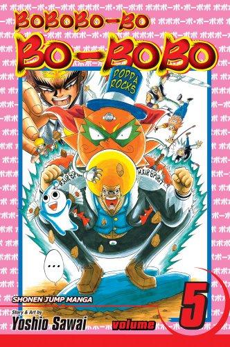 9781421533520: Bobobo-bo Bo-bobo, Vol. 5 (SJ Edition)