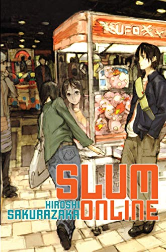 Slum Online 9781421534398 Reality bites for college freshman Etsuro Sakagami, but on the MMO Versus Town he's a karate master who can handle anything. Who will be his greatest opponent-the seemingly invisible Slasher Jack, or his would-be girlfriend Fumiko? L to R (Western Style). Reality bites for college freshman Etsuro Sakagami, but on the MMO Versus Town he's a karate master who can handle anything. Who will be his greatest opponent-the seemingly invisible Slasher Jack, or his would-be girlfriend Fumiko? Etsuro Sakagami is a college freshmen who feels uncomfortable in reality, but when he logs onto the combat MMO Versus Town, he assumes the personality of  Tetsuo,  a karate champ on his way towards becoming the most powerful martial artist around. While his relationship with new classmate Fumiko goes nowhere, he spends his days and nights online in search of the invincible fighter Slasher Jack. Floating in between real and virutal, at last, Etsuro finds himself face to face with his most powerful opponent...