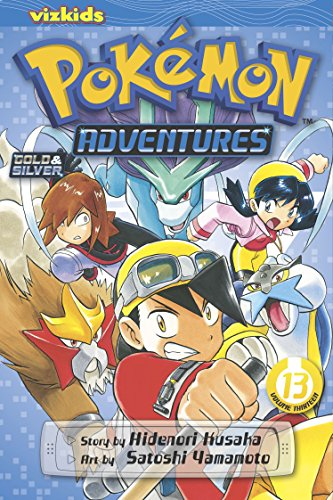 9781421535470: POKEMON ADVENTURES GN VOL 13 GOLD SILVER