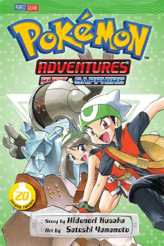 Pokemon Adventures 9781421535548 All your favorite Pokémon game characters jump out of the screen into the pages of this action-packed manga! Legendary Pokémon Kyogre an