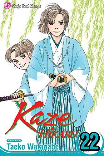 9781421535869: Kaze Hikaru, Vol. 22