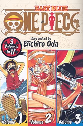 9781421536255: One Piece (3-in-1 Edition) Volume 1 (One Piece (Omnibus Edition)) [Idioma Inglés]: Includes vols. 1, 2 & 3