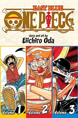 9781421536255: One Piece (3-in-1 Edition) Volume 1 (One Piece (Omnibus Edition))