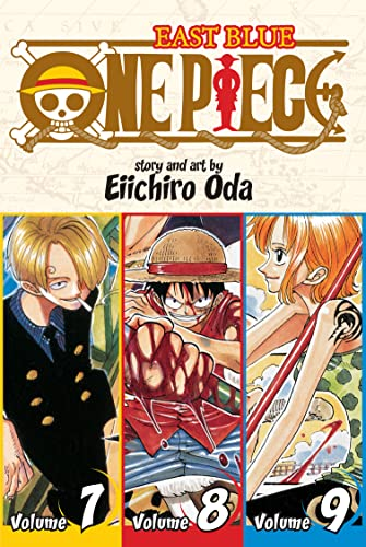 9781421536279: One Piece (3-in-1 Edition), Vol. 7, 8 et 9 (One Piece (Omnibus Edition))