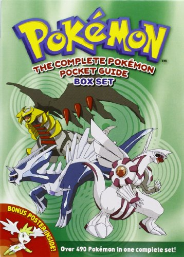 9781421539188: The Complete Pokemon Pocket Guide Box Set
