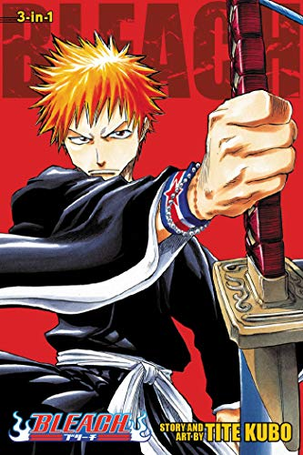 9781421539928: Bleach (3-in-1 Edition), Vol. 1: Includes vols. 1, 2 & 3