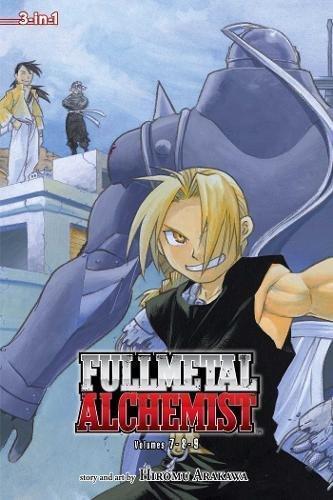 9781421540207: Fullmetal Alchemist, Vol. 7-9 (Fullmetal Alchemist 3-in-1)