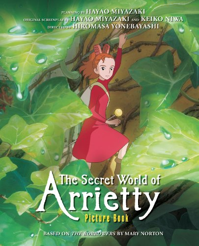 9781421541150: SECRET WORLD OF ARRIETTY PICTURE BOOK HC (Studio Ghibli Library)