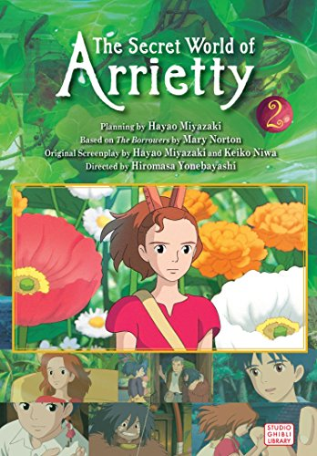 The Secret World of Arrietty (Film Comic), Vol. 2 (Paperback)