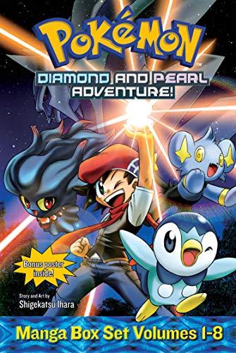 Pokemon Diamond and Pearl Adventure! Box Set (Paperback): Shigekatsu Ihara