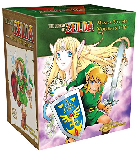 9781421542423: Legend Of Zelda Box Set (The Legend of Zelda)