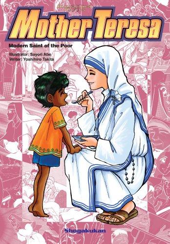 9781421543222: Biographical Comics: Mother Teresa: Modern Saint of the Poor (Biographical Comic Series)