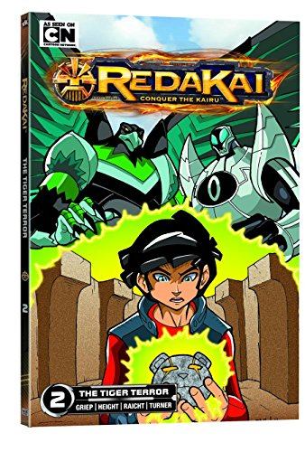 9781421543390: Redakai, Vol. 2: The Tiger Terror