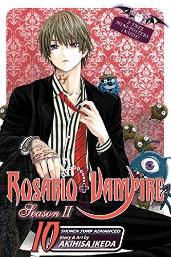 9781421548791: Rosario+Vampire Season II; 10
