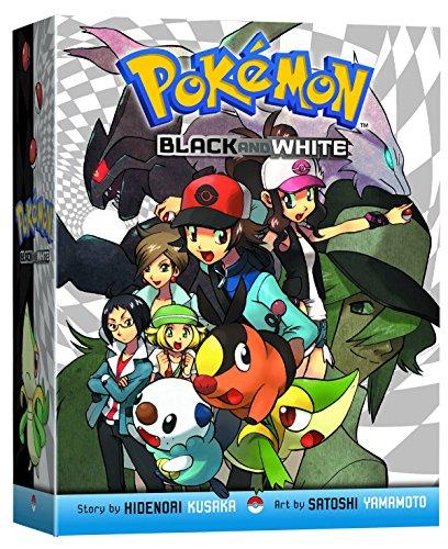 9781421550053: POKEMON BLACK & WHITE GN BOX SET