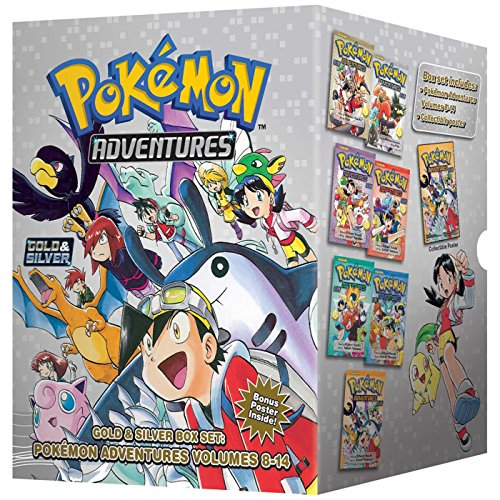 Pokemon Adventures Gold & Silver Box Set: Volumes 8-14 (Boxed Set): Hidenori Kusaka
