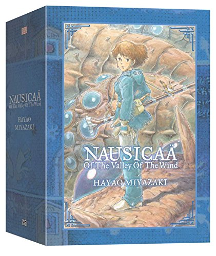 9781421550640: NAUSICAA O/T VALLEY O/T WIND BOX SET (C: 1-0-1) (Nausicaa of the Valley of the Wind)