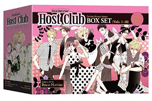 9781421550787: OURAN HIGH SCHOOL HOST CLUB GN BOX SET