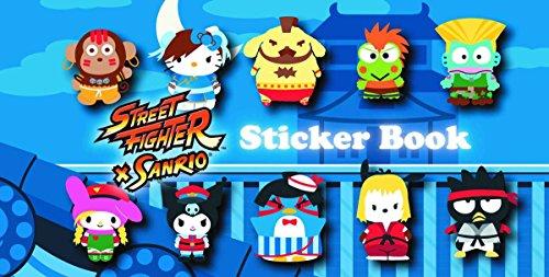 9781421553689: STREET FIGHTER X SANRIO STICKER BOOK (C: 1-0-2)