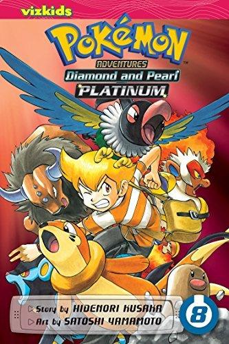 Pokémon Adventures: Diamond and Pearl/Platinum, Vol. 8 (Pokemon): Kusaka, Hidenori