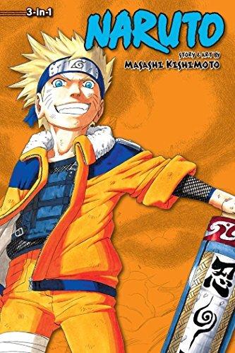 9781421554884: Naruto (3-in-1 Edition), Vol. 4: Includes vols. 10, 11 & 12