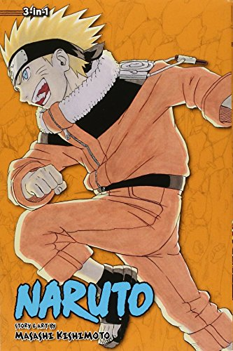 9781421554907: NARUTO 3IN1 TP VOL 06 (C: 1-0-1)