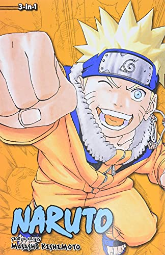 9781421554952: NARUTO 3IN1 TP VOL 07 (C: 1-0-0) (Naruto (3-in-1 Edition))