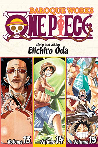 9781421554983: One Piece 13-14-15: Baroque Works