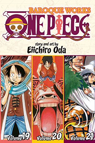 9781421555003: One Piece (3-in-1 Edition) Volume 7: Includes vols. 19, 20 & 21 (One Piece (Omnibus Edition))