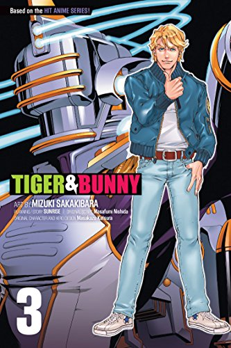 9781421555638: TIGER & BUNNY GN VOL 03 (C: 1-0-1) (Tiger and Bunny)
