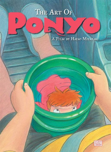 9781421566023: The Art of Ponyo on the Cliff