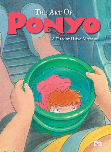 9781421566023: The Art of Ponyo (PONYO ON THE CLIFF)