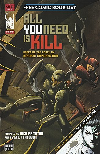 9781421573526: Free Comic Book Day 2014 All You Need Is Kill / Terra Formars
