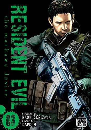 Resident Evil, Vol. 3: The Marhawa Desire: Naoki Serizawa