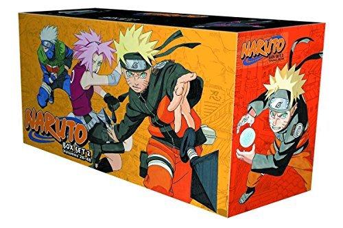 Naruto Box Set 2: Volumes 28-48 with Premium: Kishimoto, Masashi
