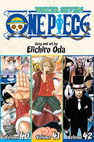 9781421580869: One Piece (3-in-1 Edition) Volume 14: 40, 41, 42 (One Piece (Omnibus Edition)) [Idioma Inglés]: Includes vols. 40, 41 & 42