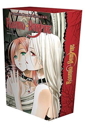 9781421583174: Rosario + Vampire Complete Box Set