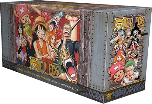 9781421590523: One Piece Box Set 3: Volumes 47-70 with Premium: Volume 3 (One Piece Box Sets)